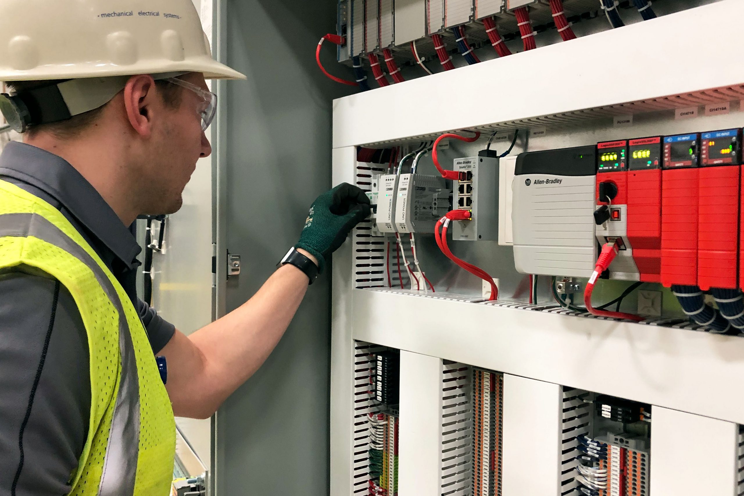 Engineer providing batching system services